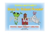 Back to School Tips Reader with Stormie Rabbit and Freddie Frog