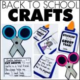 Back to School Writing Craftivities