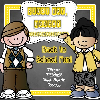Back to School with 1st Day Hooray!