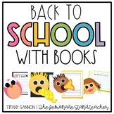 Back to School with Books Classroom Management Craftivity Pack