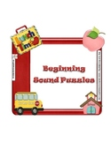 Back to School/Beginning Sound Puzzles