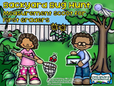 Backyard Bug Hunt Measurement Scoot for First Graders