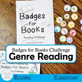 Badges for Books Reading Challenge and Genre Exploration (