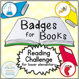 Badges for Books Reading Challenge and Genre Exploration (