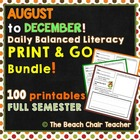 Morning Work BUNDLE  100 Literacy Printables!