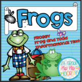 Balanced Literacy with a Frog Theme... Crafts, Literacy, I