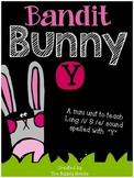 Bandit Bunny Y-  A mini unit to teach the Long /i/ and /e/