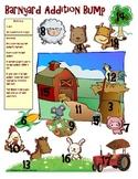 Barnyard Addition and Subtraction Bump Math Station Games