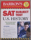Barron's SAT Subject Test: U.S. History 12th Edition (2007)