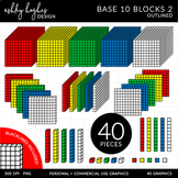 Base 10 Blocks Set 2 {Graphics for Commercial Use}