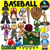 Baseball Clip Art Bundle