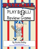 Baseball Review Game to Play in the Classroom