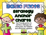 Basic Facts Strategy Anchor Charts (addition and subtraction)