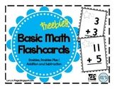 Basic Math Flashcards. FREEBIE