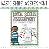 Basic Skills Assessment Pack