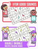 Basketball Articulation and Multiple Meaning Words Combo Pack