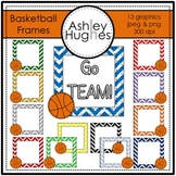 Basketball Frames {Graphics for Commercial Use}