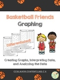 Basketball Friends Graphing {CCSS Aligned & Differentiated!}