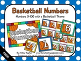 Basketball Numbers {Freebie}