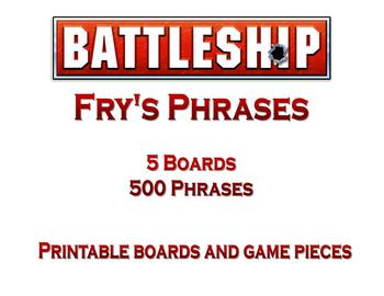 Battleship Board Game: Fry's Phrases