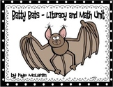 Batty Bats Literacy and Math Unit - Common Core Aligned