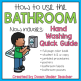 Be a Bathroom Superhero - Teaching bathroom rules and procedures