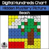 Beach Hundreds Chart Hidden Picture Activity for Oceans an