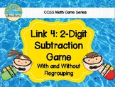 Beach Themed 2 Digit Subtraction Link 4 Game