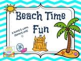 Beach Time Fun~ Literacy Unit
