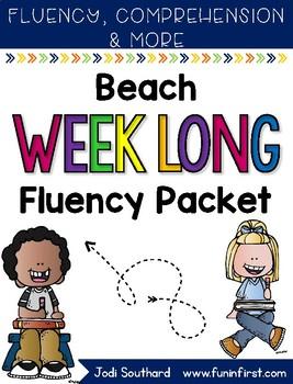 Beach Weeklong Fluency Packet