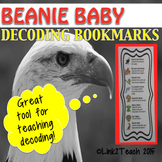 Beanie Baby Decoding Bookmarks
