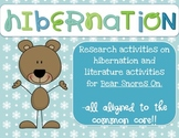 Bear Snores On Hibernation Research Project