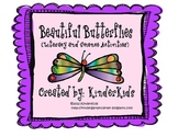 Beautiful Butterflies:  Literacy and Science Activities