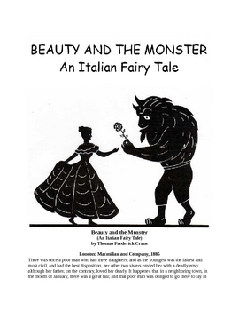Beauty and the Monster - An Italian Fairy Tale
