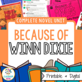 Because of Winn-Dixie {CCSS Aligned Novel Unit}