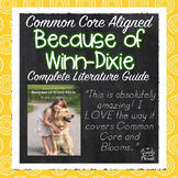 Because of Winn-Dixie - 133 pages - Lessons, Activities, Q