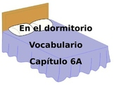 Bedroom vocabulary Realidades 1 Chapter 6A