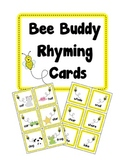 Bee Buddy Rhyming Cards
