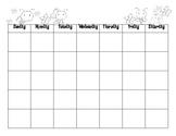 Bee Calendar Set