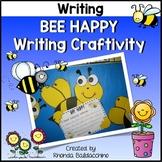 Bee Happy Writing Craftivity