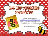 Bee My Valentine Craftivity
