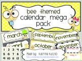 Bee Themed Calendar Pack