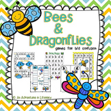 Bees & Dragonflies: Games for b d confusion/reversal