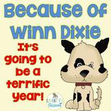 Because of Winn Dixie, Beginning of year activities