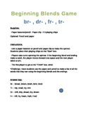 Beginning Blends Game