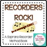 "Beginning Recorder Method Book - ""Recorders Rock"" for Sopr"