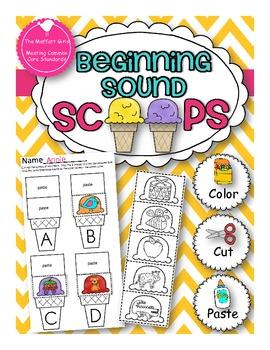 Beginning Sound Scoops!