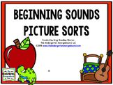 Beginning Sounds Picture Sorts