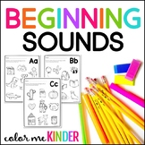 Color it! Beginning Sounds Printable Pack