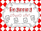 Beginning Sounds Sorting Unit